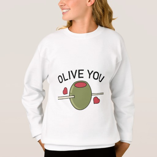Olive You Girls' Hanes ComfortBlend® Sweatshirt