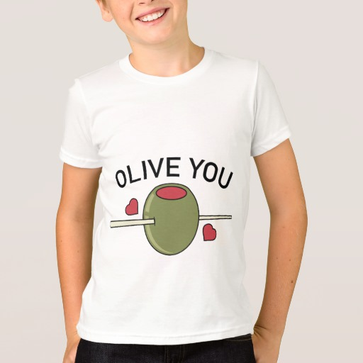 Olive You Kids' American Apparel Fine Jersey T-Shirt
