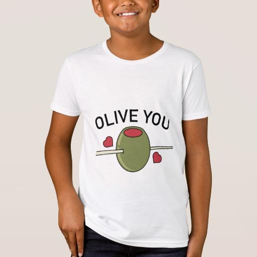 Olive You Kids' American Apparel Organic T-Shirt