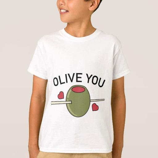 Olive You Kids' Hanes TAGLESS® T-Shirt