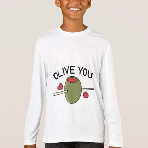 Olive You Kids' Sport-Tek Competitor Long Sleeve T-Shirt