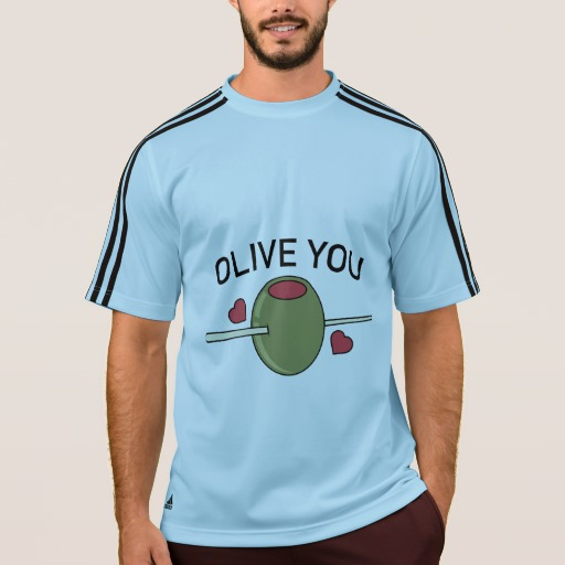 Olive You Men's Adidas ClimaLite® T-Shirt