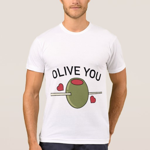 Olive You Men's American Apparel Poly-Cotton Blend T-Shirt