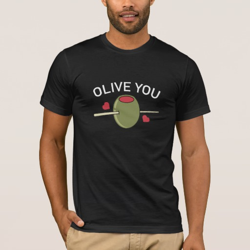 Olive You Men's Basic American Apparel T-Shirt