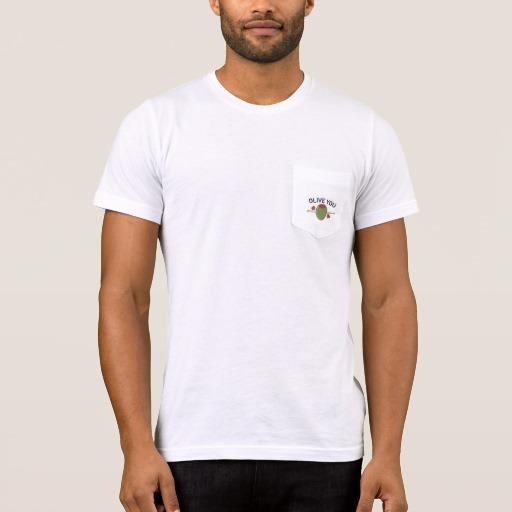 Olive You Men's Bella+Canvas Pocket T-Shirt