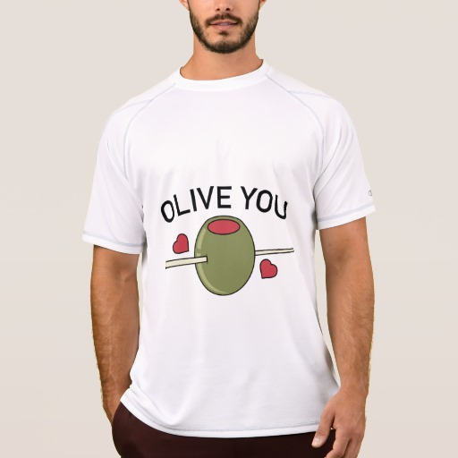 Olive You Men's Champion Double Dry Mesh T-Shirt