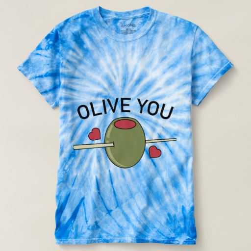 Olive You Men's Cyclone Tie-Dye T-Shirt