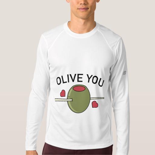 Olive You Men's New Balance Long Sleeve T-Shirt
