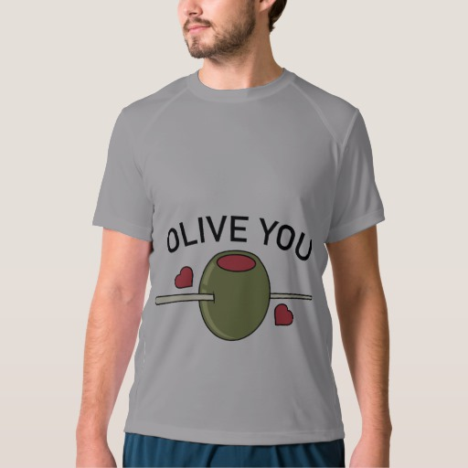 Olive You Men's New Balance T-Shirt
