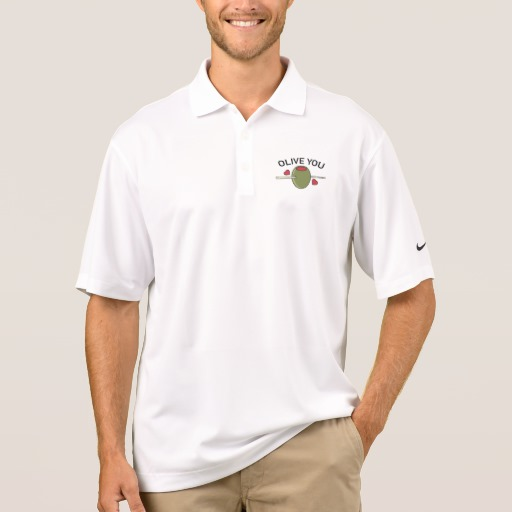 Olive You Men's Nike Dri-FIT Pique Polo Shirt