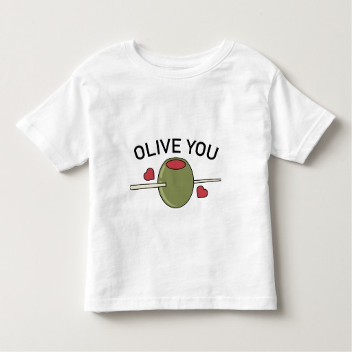 Olive You Toddler Fine Jersey T-Shirt