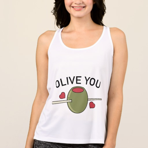 Olive You Women's All Sport Performance Tank Top