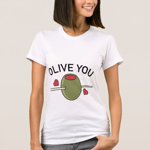 Olive You Women's American Apparel Fine Jersey T-Shirt