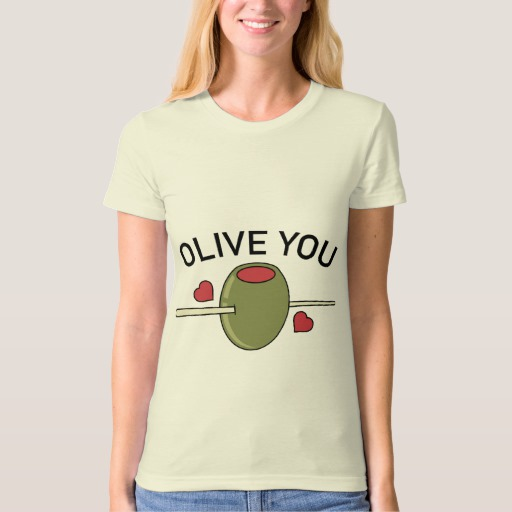 Olive You Women's American Apparel Organic T-Shirt