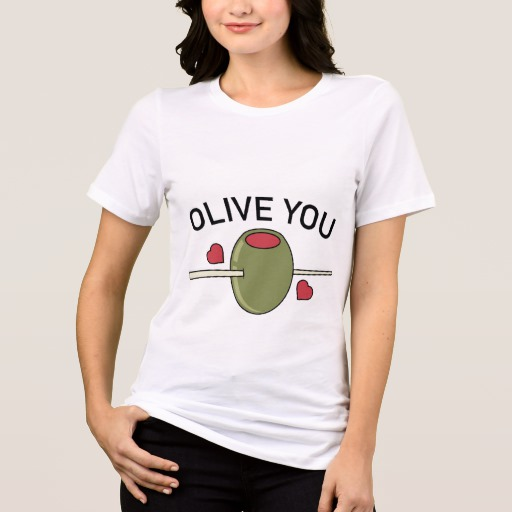 Olive You Women's Bella+Canvas Relaxed Fit Jersey T-Shirt