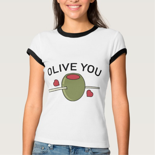 Olive You Women's Bella+Canvas Ringer T-Shirt