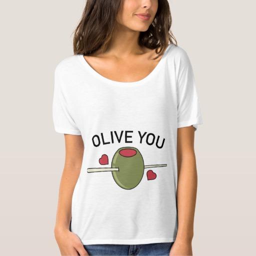Olive You Women's Bella+Canvas Slouchy Boyfriend T-Shirt