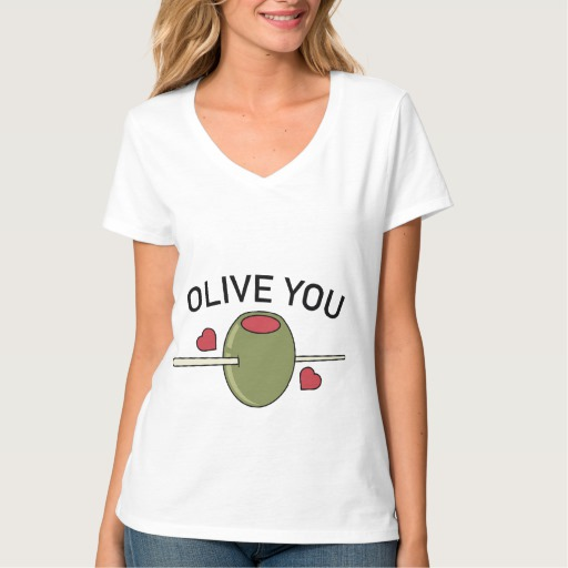 Olive You Women's Hanes Nano V-Neck T-Shirt
