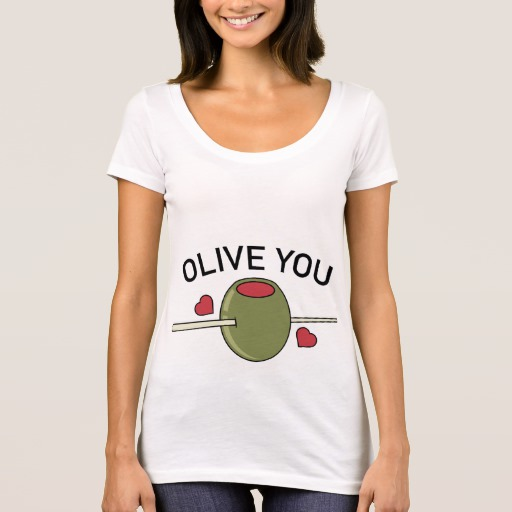 Olive You Women's Next Level Scoop Neck T-Shirt