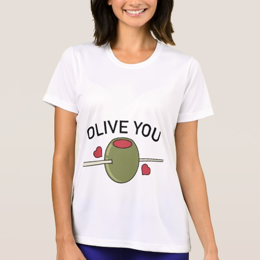 Olive You Women's Sport-Tek Competitor T-Shirt