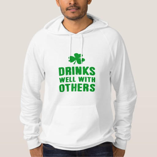 Drinks Well With Others American Apparel California Fleece Pullover Hoodie