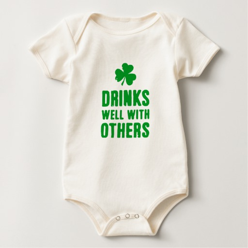 Drinks Well With Others Baby American Apparel Organic Bodysuit