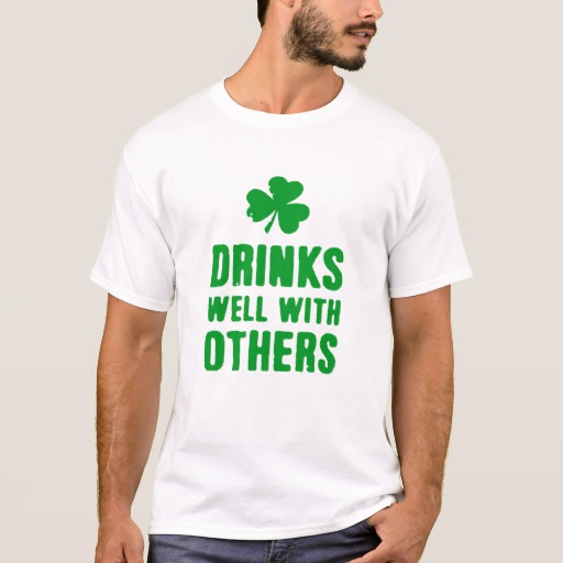 Drinks Well With Others Basic T-Shirt