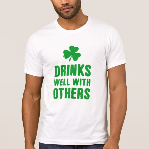 Drinks Well With Others Men's Alternative Apparel Crew Neck T-Shirt
