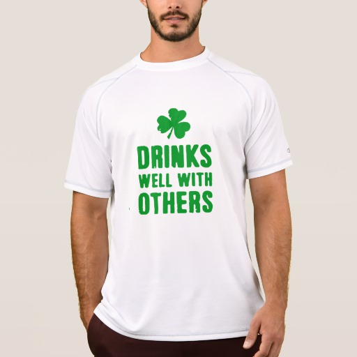 Drinks Well With Others Men's Champion Double Dry Mesh T-Shirt