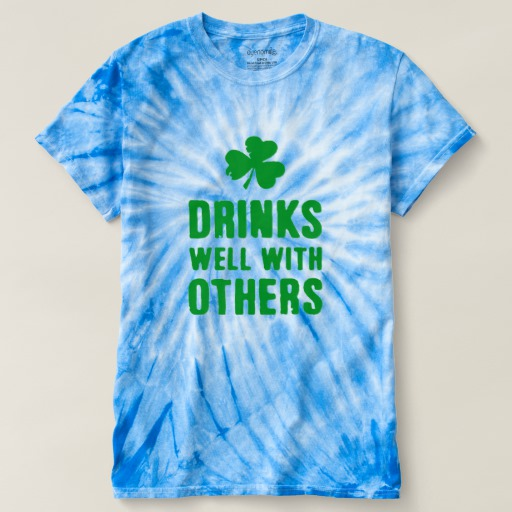 Drinks Well With Others Men's Cyclone Tie-Dye T-Shirt