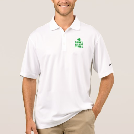 Drinks Well With Others Men's Nike Dri-FIT Pique Polo Shirt