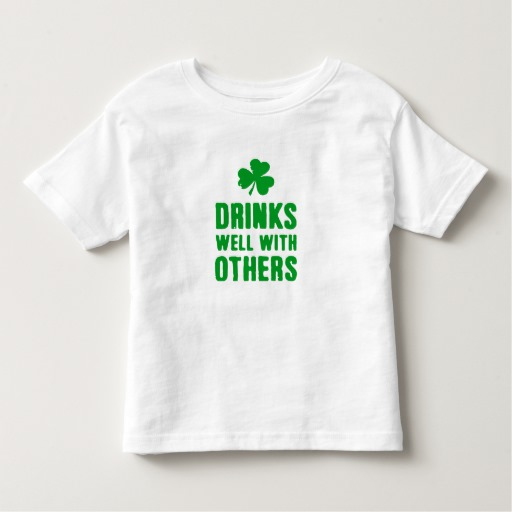 Drinks Well With Others Toddler Fine Jersey T-Shirt