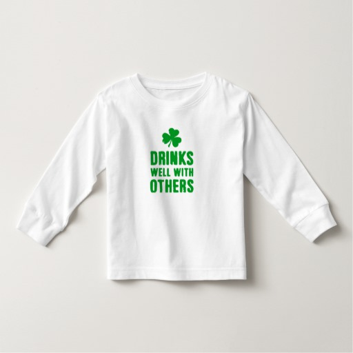 Drinks Well With Others Toddler Long Sleeve T-Shirt