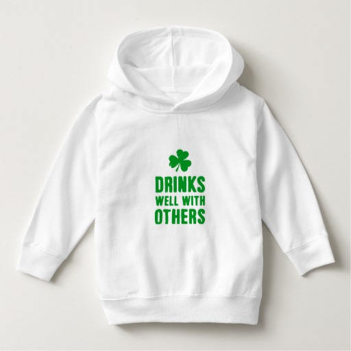 Drinks Well With Others Toddler Pullover Hoodie