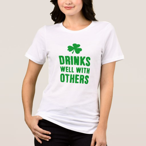 Drinks Well With Others Women's Bella+Canvas Relaxed Fit Jersey T-Shirt