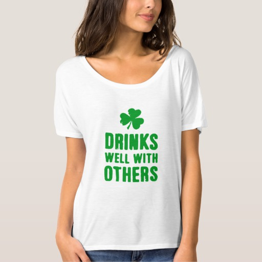 Drinks Well With Others Women's Bella+Canvas Slouchy Boyfriend T-Shirt