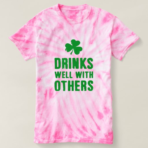 Drinks Well With Others Women's Cyclone Tie-Dye T-Shirt