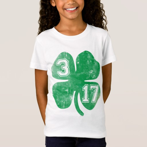 Shamrock 3-17 Girls' Fine Jersey T-Shirt