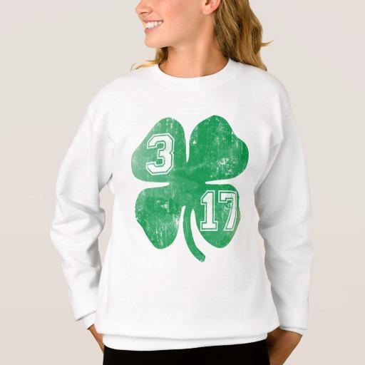 Shamrock 3-17 Girls' Hanes ComfortBlend® Sweatshirt