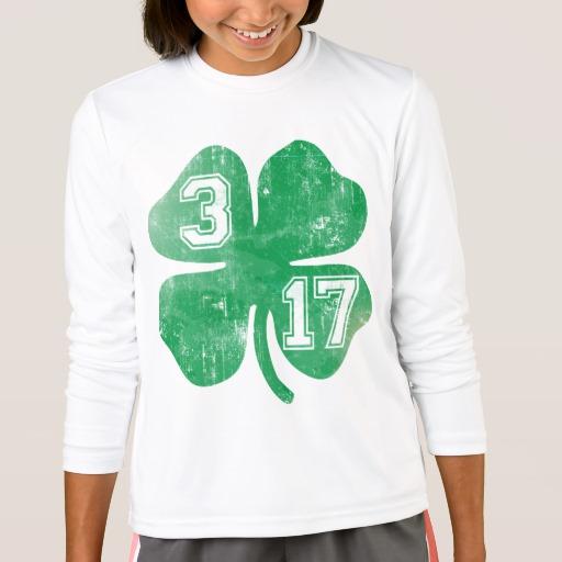 Shamrock 3-17 Girls' Sport-Tek Competitor Long Sleeve T-Shirt