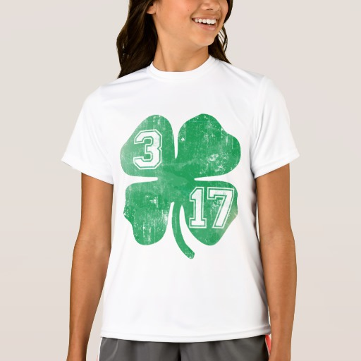 Shamrock 3-17 Girls' Sport-Tek Competitor T-Shirt