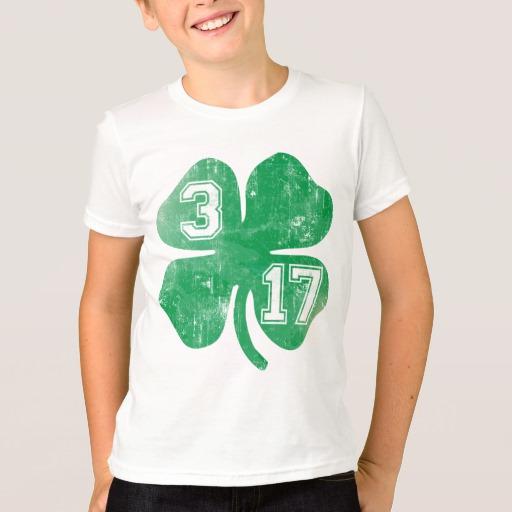Shamrock 3-17 Kids' American Apparel Fine Jersey T-Shirt