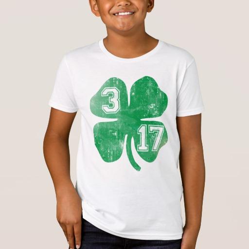 Shamrock 3-17 Kids' American Apparel Organic T-Shirt