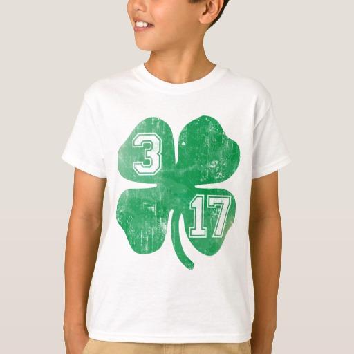 Shamrock 3-17 Kids' Hanes TAGLESS® T-Shirt