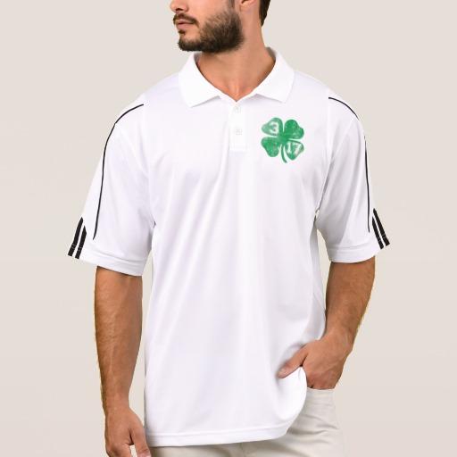 Shamrock 3-17 Men's Adidas Golf ClimaLite® Polo Shirt