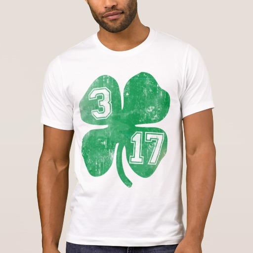 Shamrock 3-17 Men's Alternative Apparel Crew Neck T-Shirt