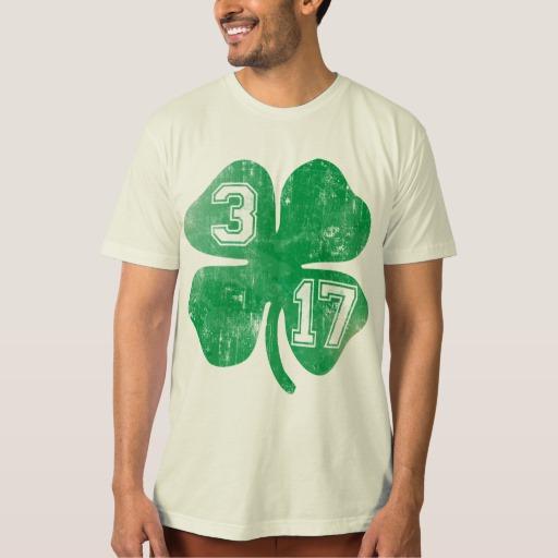 Shamrock 3-17 Men's American Apparel Organic T-Shirt