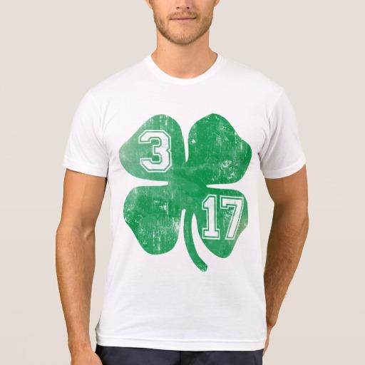 Shamrock 3-17 Men's American Apparel Poly-Cotton Blend T-Shirt