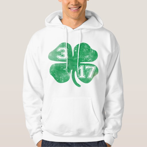 Shamrock 3-17 Men's Basic Hooded Sweatshirt