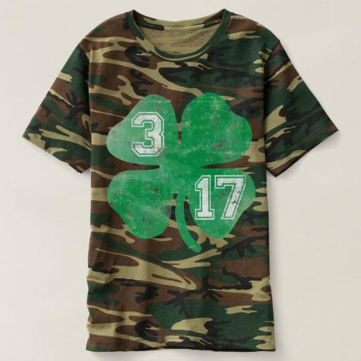 Shamrock 3-17 Men's Camouflage T-Shirt